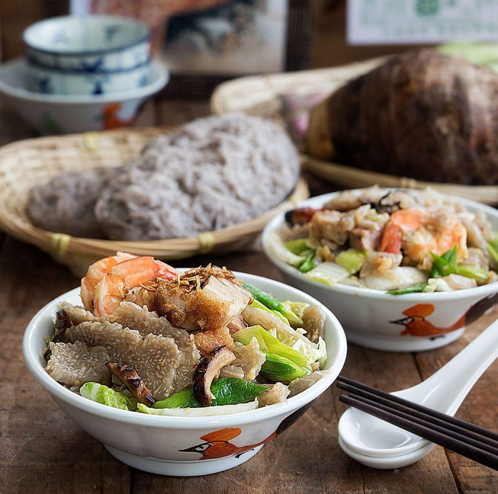 Stir-Fried Hokkien Yam Cake